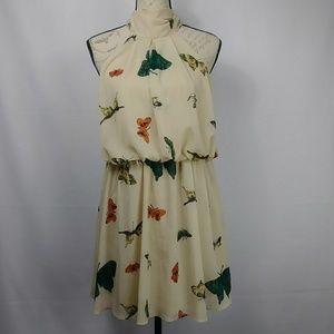 ASOS DRESS BEAUTIFUL BUTTERFLIES SIZE 10